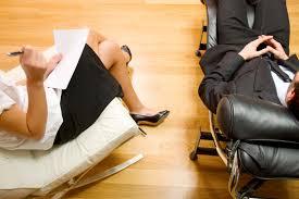 seduta da un psicologo